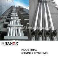 Industrial building chimney system big project stainless steel us our technical team support you 35