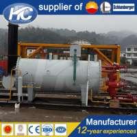 Oilfield water heater furnace