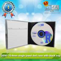 items blank dvd disk in 104mm dvd case Manufacturer