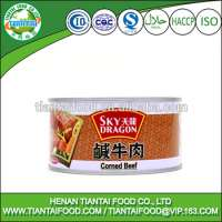 ready to eat halal 340G canned corned beef meat Manufacturer