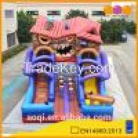 AOQI 055mm PVC tarpaulin angry cabin inflatable slide Manufacturer