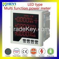Rhd2 led single phase multi function monitor digital power meter rs485modbus active reactive power  Manufacturer