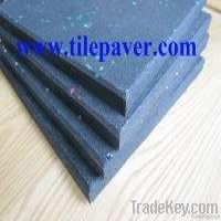 Gym rubber flooring tile Manufacturer