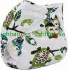 Ohbabyka all in one size pocket diapers waterproof cloth nappy pants baby