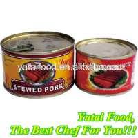 Canned Well Cooked Pork Meat