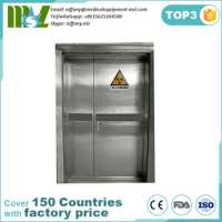 lead line door used in x ray room & CT room radiation protection MSLLD01 Manufacturer