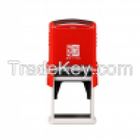 Square 40X40mm HongTu Self inking stamp office use stamp rubber stamp SquareRetangle size 40x40mm Manufacturer