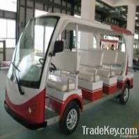 Electric Vehicle Sightseeing Car 12 Seats Manufacturer