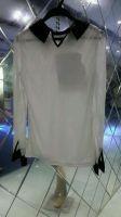 Ladies woven blouse coat