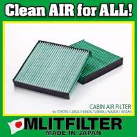 Antibacteria Japanese Air Filter automotive for particulate matter