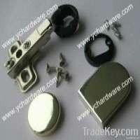 round or D shape glass door hinge Manufacturer