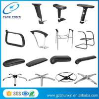 Industrial Plastic Back Office Chair Component Manufacturer