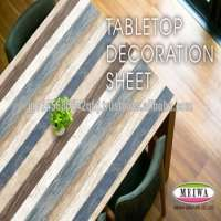 Table decoration sheet by Meiwa Gravure in [search word>>] pvc solvent cement
