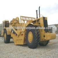 Caterpillar Scraper Used Road Construction Machinery Manufacturer