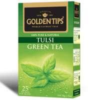 Golden Tips Tulsi Green Tea 25 Tea Bags Manufacturer