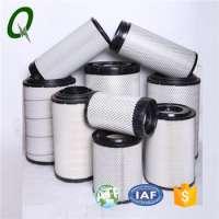 Truck air intake spare parts diesel engine air filter cartridge VolvoIvecoScaniaMan
