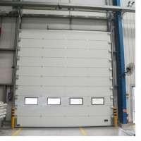 Hermetic Sealing Overhead Sectional Door Designed Warehouse Manufacturer