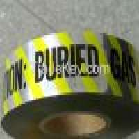 Vinyl Tapes and Detectable warning Tape Caution gaswatersewer line buried tape Manufacturer