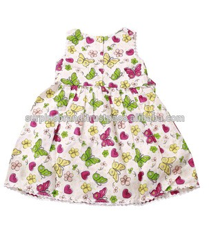 af6aa106f8f Floral Printing Baby Frock Design Clothing Set Kids One Piece Dress From  Baba International Exports
