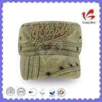 Fashion Ajustable Hat Army Captain Cap