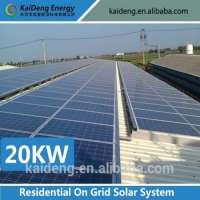 Solar power equipment on grid system kit Manufacturer