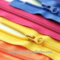 Plastic metal auto lock chain zipper clothes Manufacturer