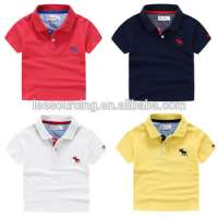 embroidery boy clothing cotton baby boy wear polo t shirt Manufacturer