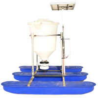 Plastic Solar Auto Feeder for Shrimp Pond Manufacturer