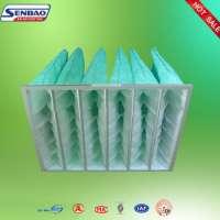 Green F6 F7 Synthetic Pocket Air Filter Filtration HVAC Ventilaton Manufacturer