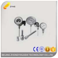 Thermometer Temperature Gauge Sensor High Quality Industrial Bimetal Thermometer Manufacturer