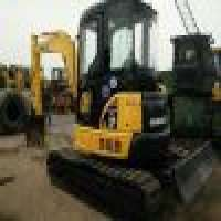 Used Mini Excavator komatsu PC55MR Mini Excavator swing boom and rubber pads Manufacturer