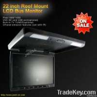 22 inch bus roof mount led monitor Manufacturer