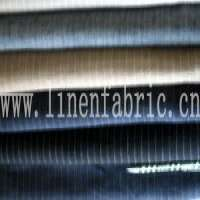 Linen Yarndyed Fabric  Manufacturer