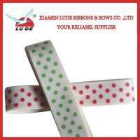 customized printed cotton ribbon