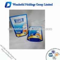 4oz aluminum foil protein milk powder packaging stand up zip pouches protein bag Manufacturer