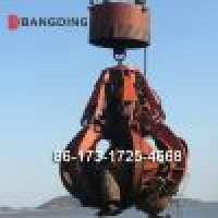 ElectroHydraulic Orange Peel Grab bucket ship loading Manufacturer
