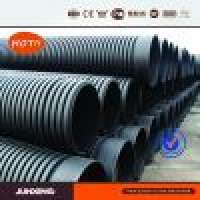 HDPE double wall corrugated pipe sewerage Manufacturer