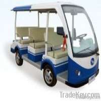 Electric Vehicle Sightseeing Car 9 Seats Manufacturer