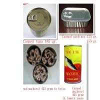 Canned tuna canned sardines canned mackerel of origin Manufacturer