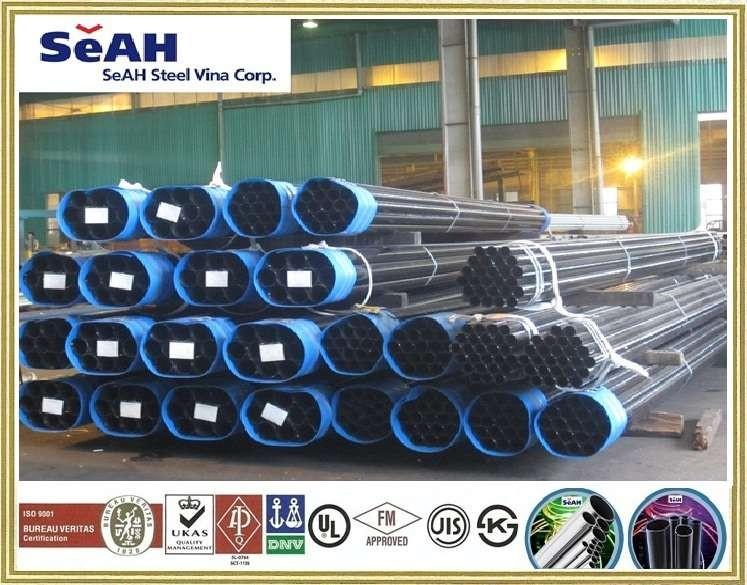 BLACK STEEL PIPE - SEAH PIPE