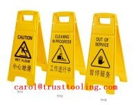 plastic wet floor safety cones mould