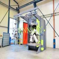 Hook Type Abrasive shot Blasting equiupment Manufacturer