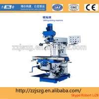 bed type horizontal milling machine