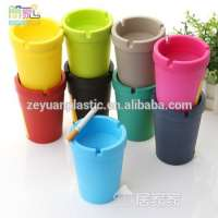 Colorful Plastic Car Ashtray Butt Bucket Manufacturer