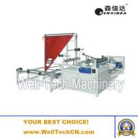 Automatic Filling Weighing Baggiven Packing Machine Plastic Film Folding Rewinding Machine Manufacturer