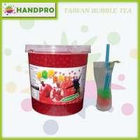 Pomegranate Popball Bubble Tea drinks like Popping Boba Manufacturer