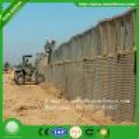 Welded wire rope mesh gabion bastio and hesco barrier in market Manufacturer