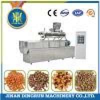 Double screw animal food machine pet food processing machine Manufacturer