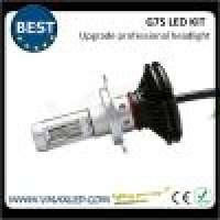 G7SH4 upgrade High lumen 5000LM Easy Install Aluminum Metal fanless LED Headlamp Manufacturer
