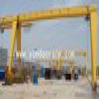 MH Model Single Girder Gantry Crane Manufacturer